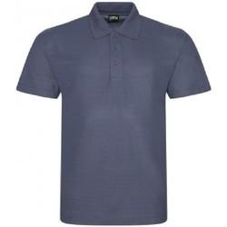Textiel Heren Polo's korte mouwen Prortx RX105 Massief Grijs