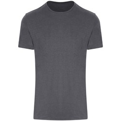 Textiel T-shirts korte mouwen Just Cool JC110 IJzergrijs