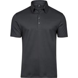 Textiel Heren Polo's korte mouwen Tee Jays T1440 Donkergrijs