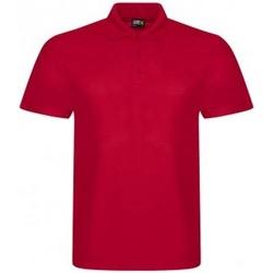Textiel Heren Polo's korte mouwen Prortx RX105 Rood