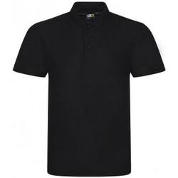 Textiel Heren Polo's korte mouwen Prortx RX105 Zwart
