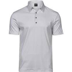 Textiel Heren Polo's korte mouwen Tee Jays T1440 Wit
