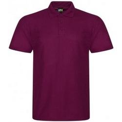 Textiel Heren Polo's korte mouwen Prortx RX105 Bourgondië