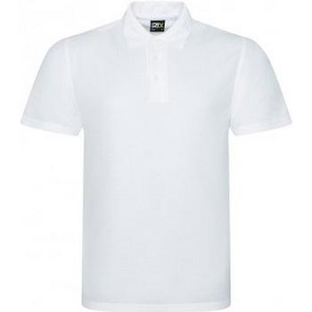 Textiel Heren Polo's korte mouwen Prortx RX105 Wit