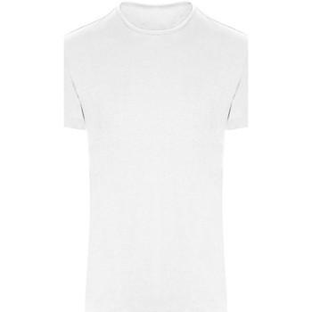 Textiel T-shirts korte mouwen Just Cool JC110 Arctisch Wit