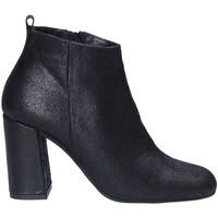 Schoenen Dames Low boots Keys 7172 Zwart