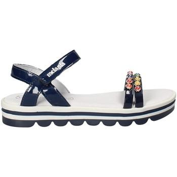 Schoenen Meisjes Sandalen / Open schoenen Melania ME6162F8E.A Blauw