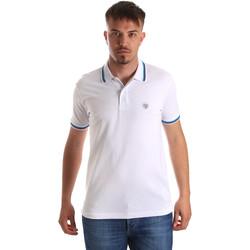 Textiel Heren Polo's korte mouwen Gaudi 911BU64033 Wit
