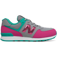 Schoenen Meisjes Lage sneakers New Balance NBGC574KWT Gris