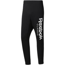 Textiel Heren Trainingsbroeken Reebok Sport DH2089 Zwart