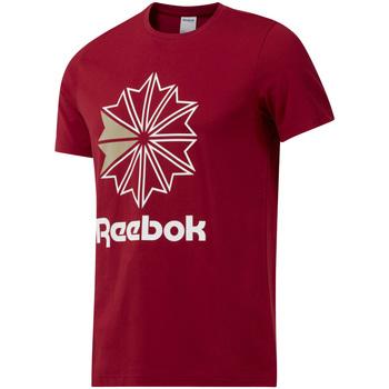 Textiel Heren T-shirts korte mouwen Reebok Sport DH2096 Rood