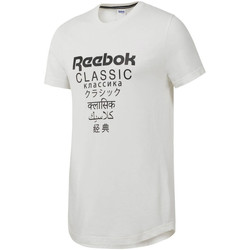 Textiel Heren T-shirts korte mouwen Reebok Sport DJ1893 Wit