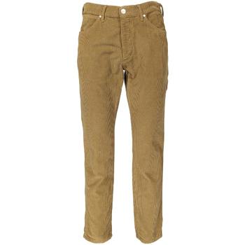 Textiel Heren Broeken / Pantalons Wrangler W18RSU Beige