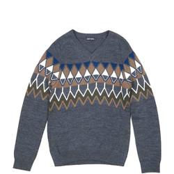 Textiel Heren Truien Antony Morato MMSW00885 YA400006 Grijs