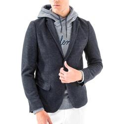 Textiel Heren Jasjes / Blazers Antony Morato MMJA00368 FA100171 Blauw