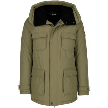 Textiel Heren Parka jassen Ea7 Emporio Armani 6ZPK05 PNN5Z Groen