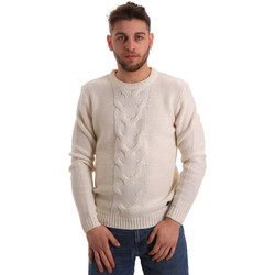 Textiel Heren Truien Gaudi 821BU53042 Wit