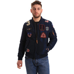 Textiel Heren Wind jackets U.S Polo Assn. 50353 52252 Bleu