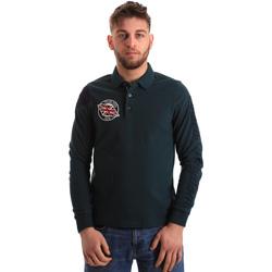Textiel Heren Polo's lange mouwen U.S Polo Assn. 50615 47773 Groen