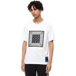 Textiel Heren T-shirts korte mouwen Calvin Klein Jeans J30J309593 Wit