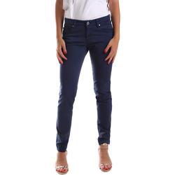 Textiel Dames 5 zakken broeken Gaudi 911BD25010 Blauw