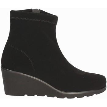 Schoenen Dames Enkellaarzen Susimoda 825377 Zwart