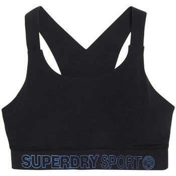 Textiel Dames Sport BHs Superdry GS3009AR Zwart
