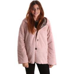 Textiel Dames Parka jassen Byblos Blu 689104 Roze