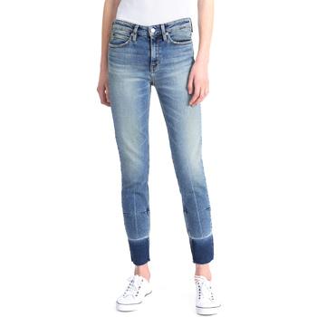 Textiel Dames Skinny jeans Calvin Klein Jeans J20J208060 Bleu