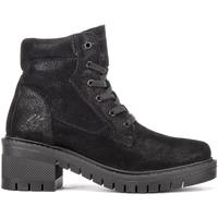 Schoenen Dames Enkellaarzen Lumberjack SW50601 001 A11 Zwart