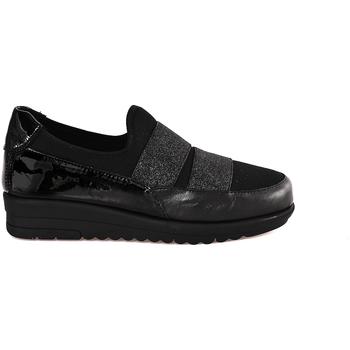 Schoenen Dames Mocassins Grunland SC3978 Zwart