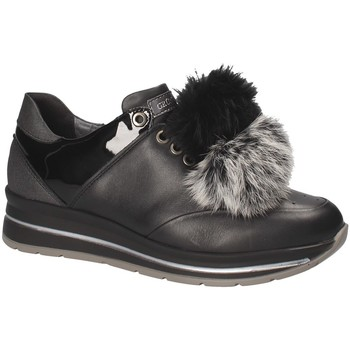 Schoenen Dames Lage sneakers Grunland SC3944 Zwart