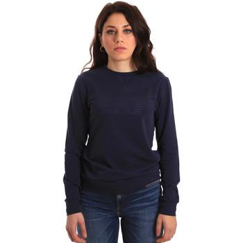 Textiel Dames Sweaters / Sweatshirts Ea7 Emporio Armani 6ZTM84 TJ31Z Blauw
