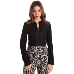 Textiel Dames Jasjes / Blazers Gaudi 821FD35003 Zwart