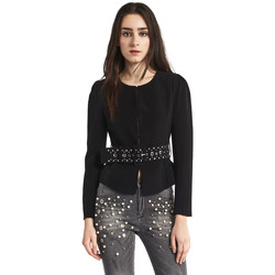 Textiel Dames Jasjes / Blazers Gaudi 821FD35004 Zwart
