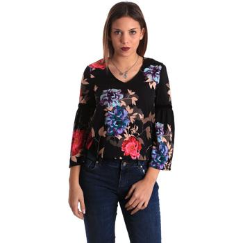 Textiel Dames Tops / Blousjes Gaudi 821FD45009 Zwart