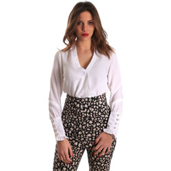 Textiel Dames Tops / Blousjes Gaudi 821FD45014 Wit