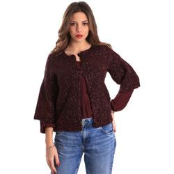 Textiel Dames Vesten / Cardigans Gaudi 821FD53044 Rood