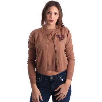 Textiel Dames Vesten / Cardigans Denny Rose 821DD50100 Beige