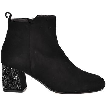 Schoenen Dames Enkellaarzen Melluso Z801E Zwart