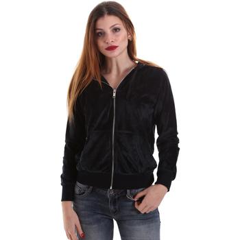 Textiel Dames Sweaters / Sweatshirts Key Up 5CS57 0001 Zwart