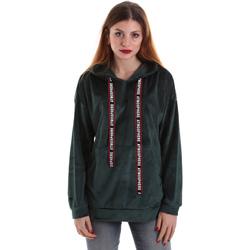 Textiel Dames Sweaters / Sweatshirts Key Up 5CS91 0001 Groen