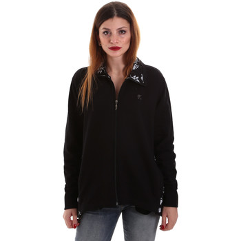 Textiel Dames Sweaters / Sweatshirts Key Up 5FI46 0001 Zwart