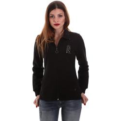 Textiel Dames Sweaters / Sweatshirts Key Up 5EG20 0001 Zwart