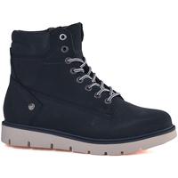 Schoenen Dames Laarzen Wrangler WL182510 Blauw