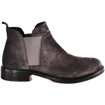 Schoenen Dames Enkellaarzen Mally 5948 Grijs