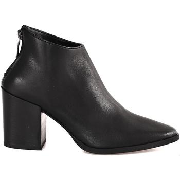 Schoenen Dames Enkellaarzen Mally 6341 Zwart