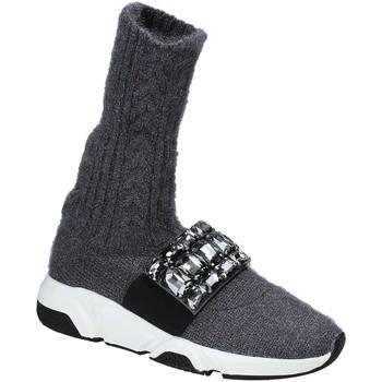 Schoenen Dames Hoge sneakers Studio Italia BLANCHE 08 Grijs