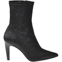 Schoenen Dames Enkellaarzen Elvio Zanon I2906X Zwart