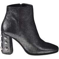 Schoenen Dames Enkellaarzen Elvio Zanon I5703G Zwart